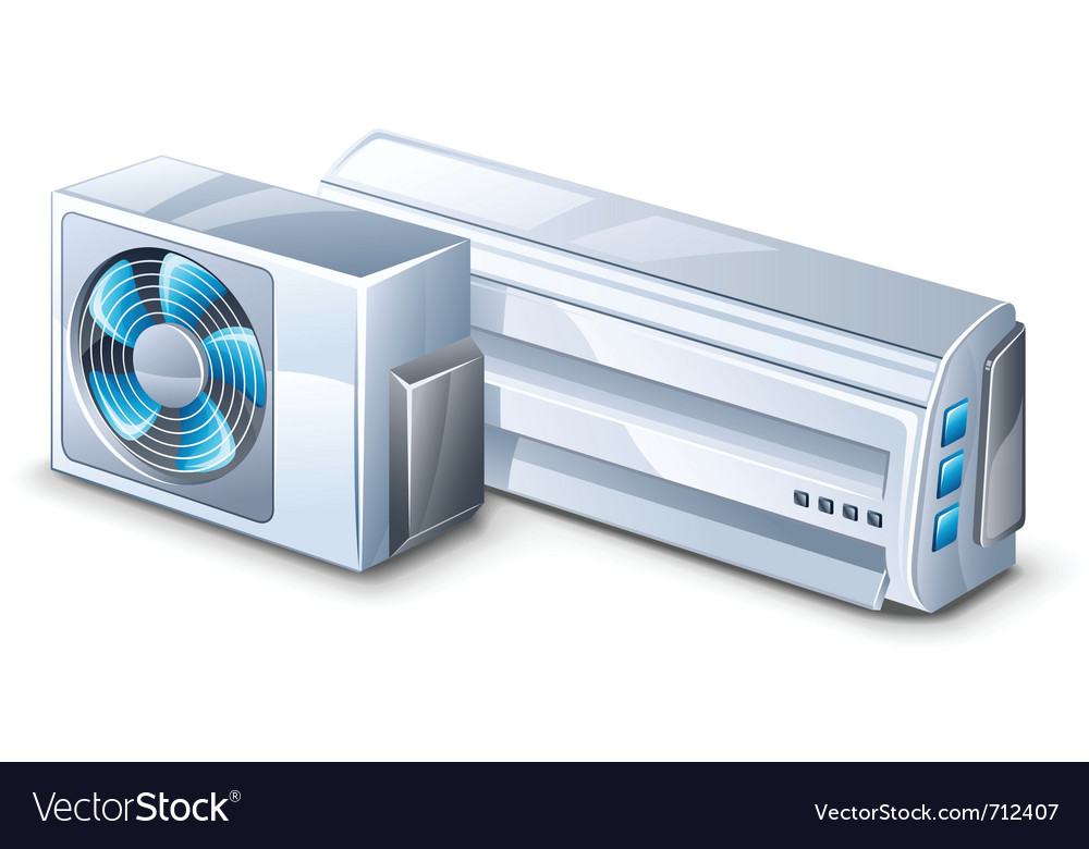Air conditioner vector | Price: 3 Credit (USD $3)
