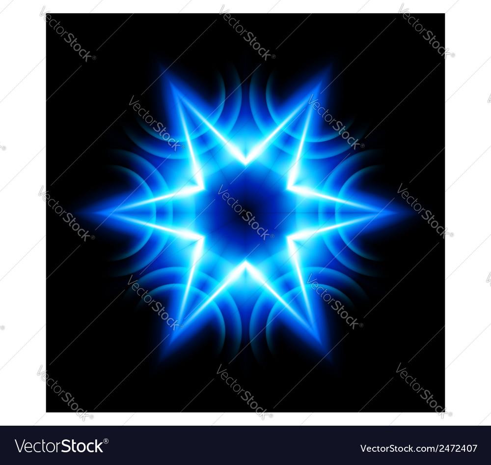 Digital star vector | Price: 1 Credit (USD $1)