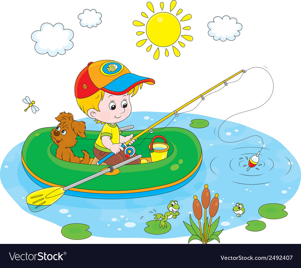 Little fisher vector | Price: 1 Credit (USD $1)