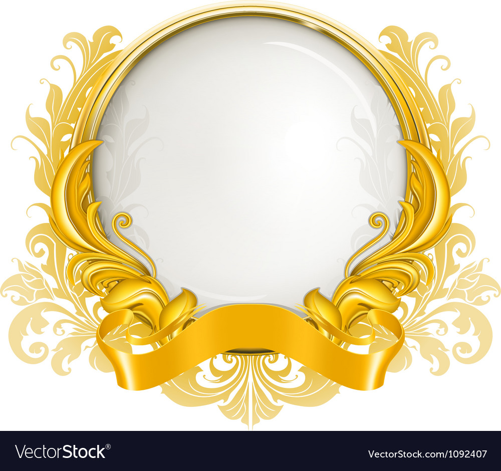 Luxury frame vector | Price: 1 Credit (USD $1)