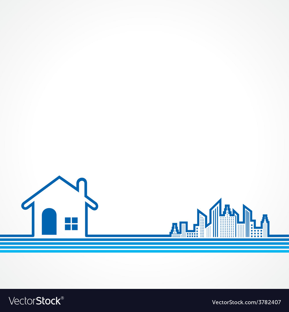 Real estate background for sale property concept vector   Price: 1 Credit (USD $1)