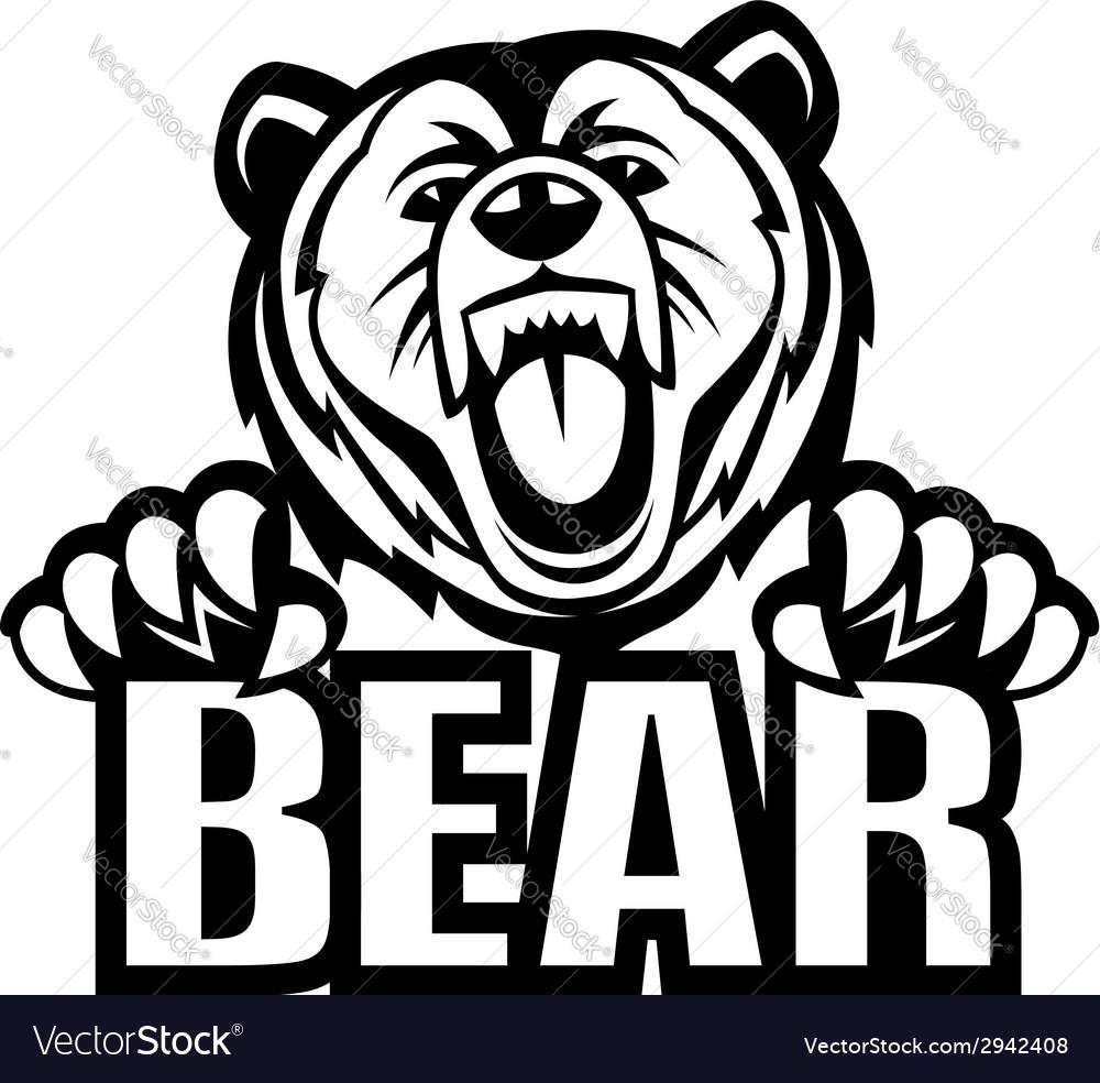 Bear vector   Price: 1 Credit (USD $1)
