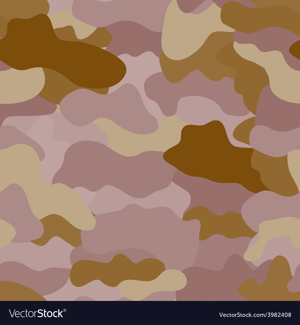 Seamless military camouflage texture vector | Price: 1 Credit (USD $1)