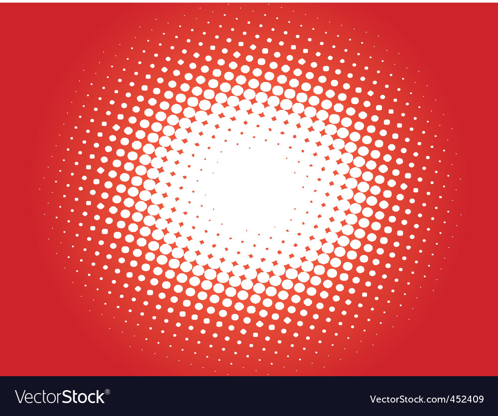 Halftone pattern03 vector | Price: 1 Credit (USD $1)