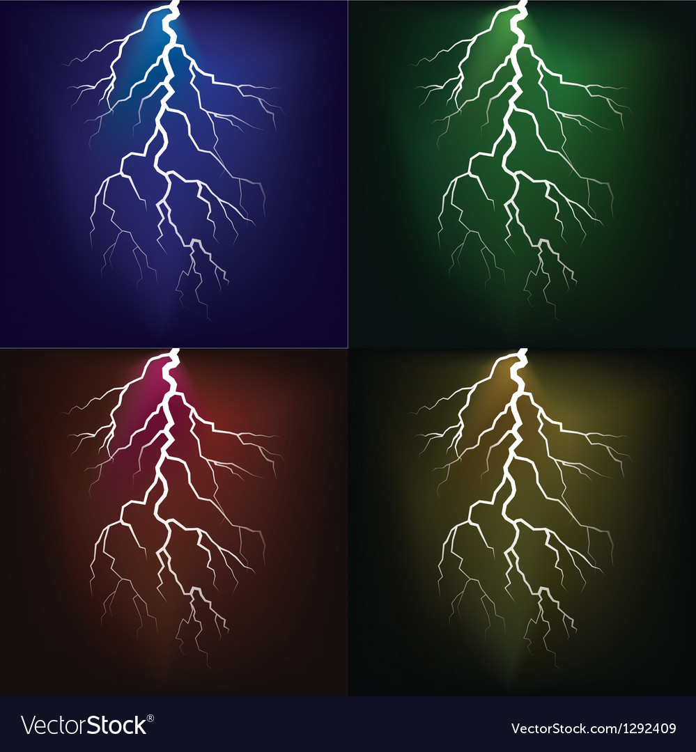 Set of flashes vector | Price: 1 Credit (USD $1)