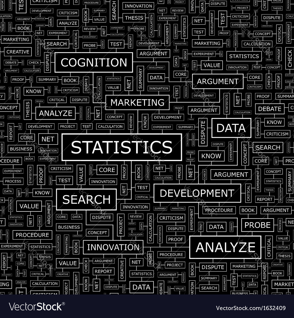 Statistics vector | Price: 1 Credit (USD $1)