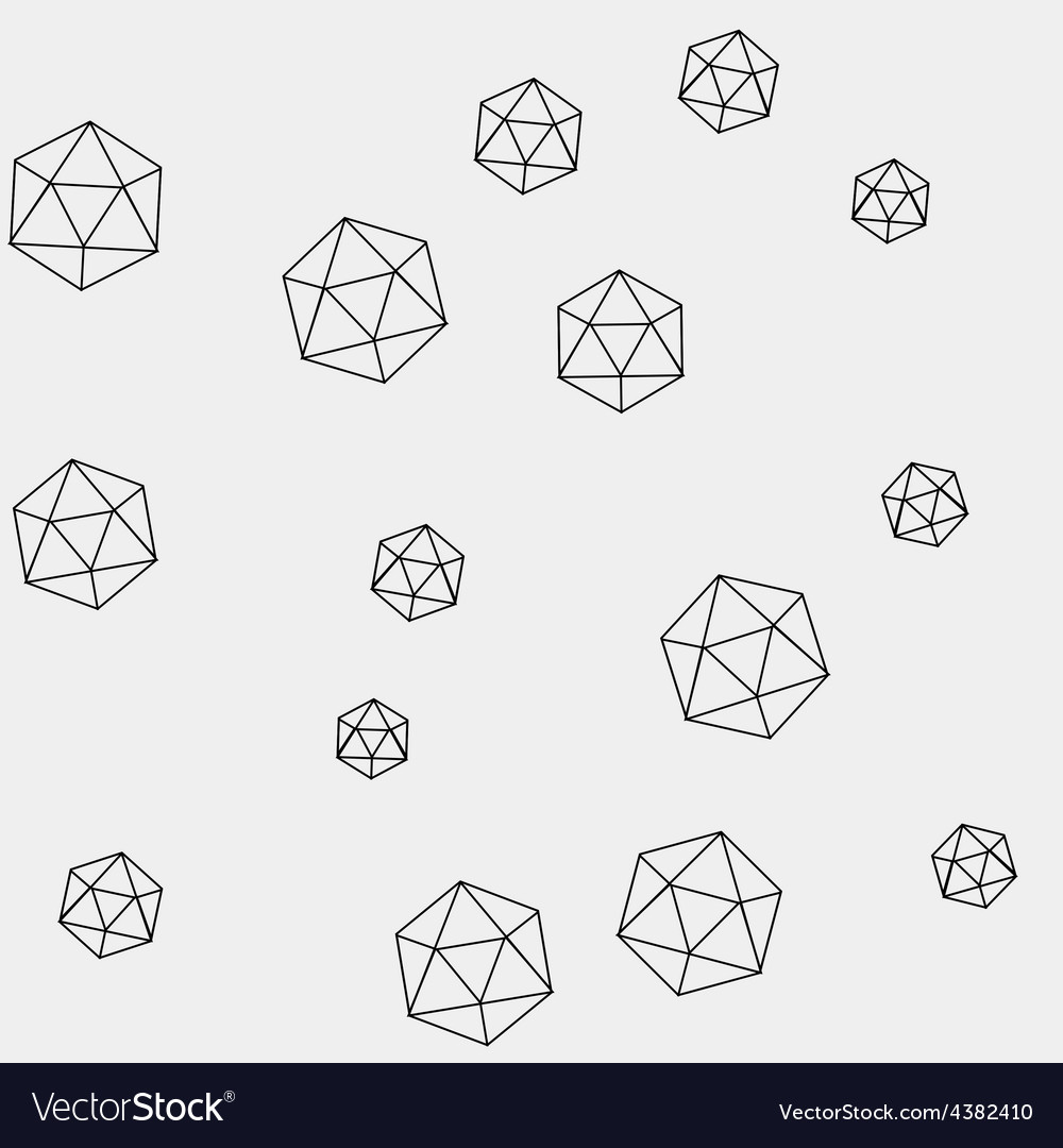 Geometric simple monochrome minimalistic pattern vector | Price: 1 Credit (USD $1)