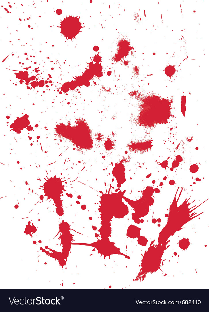 Grunge texture from blood splats vector | Price: 1 Credit (USD $1)