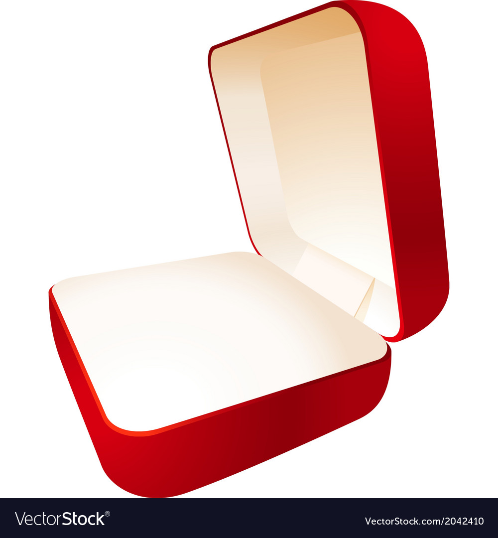 Jewelry box perspective vector | Price: 1 Credit (USD $1)