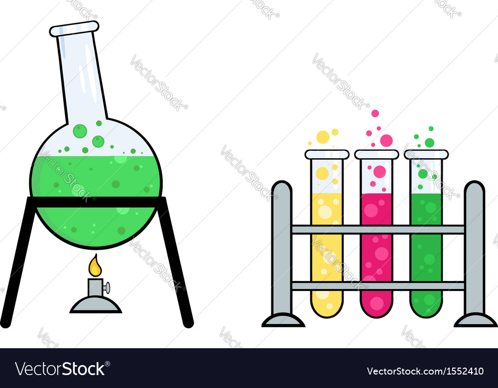 Science equipment vector | Price: 1 Credit (USD $1)