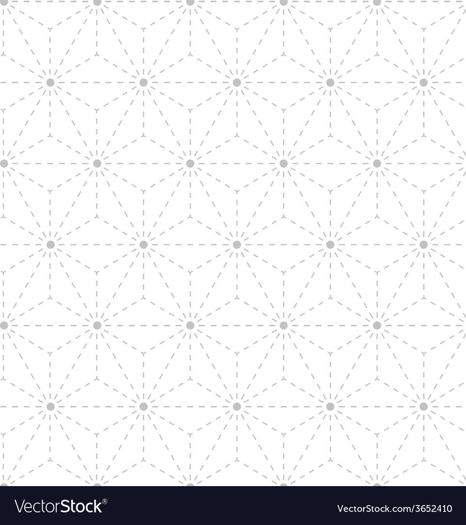 Seamless gray white geometrical pattern vector | Price: 1 Credit (USD $1)