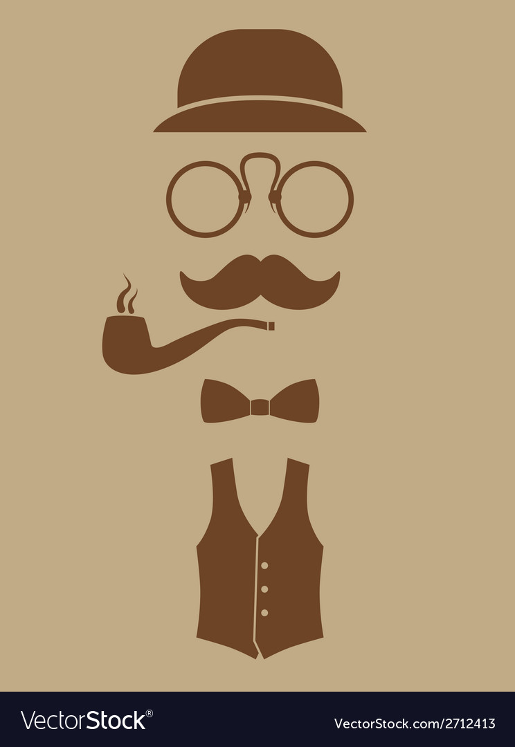 Gentlemen vector | Price: 1 Credit (USD $1)