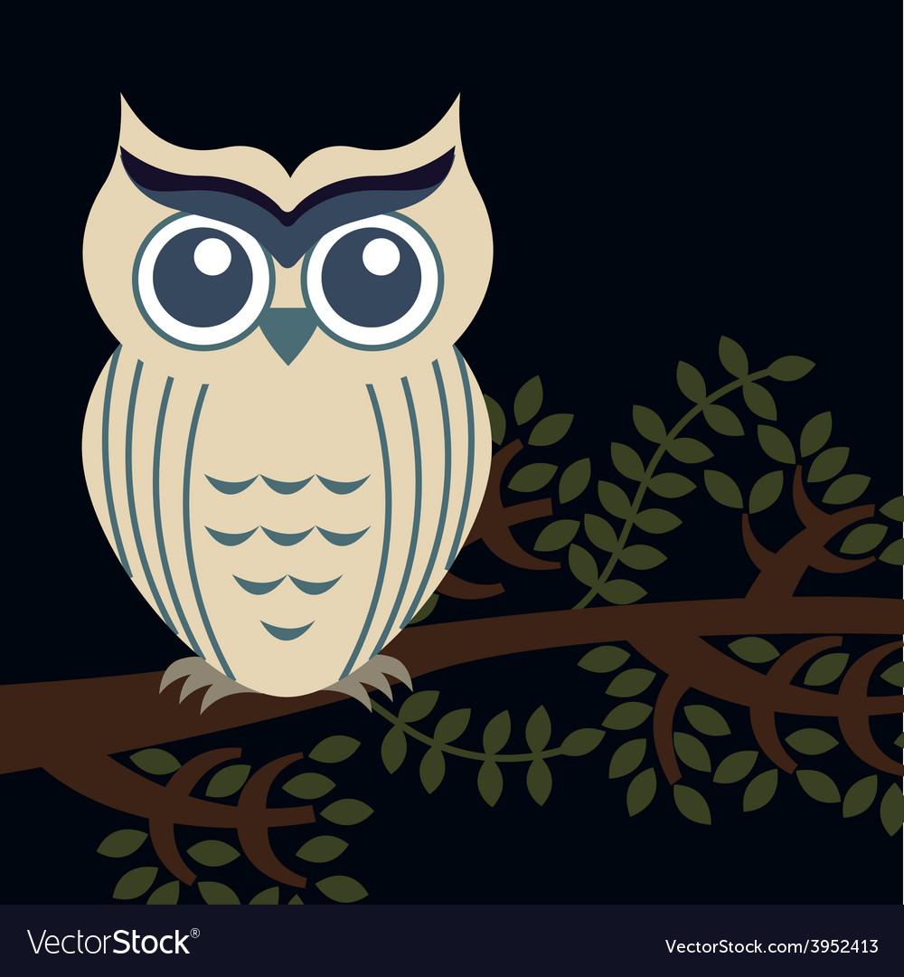 Owl bird vector   Price: 1 Credit (USD $1)