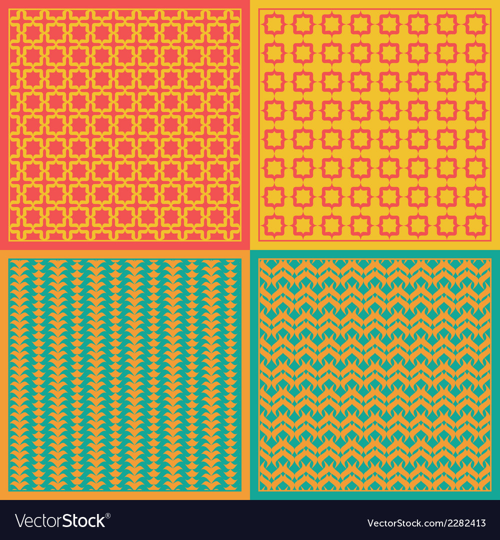 Seamless patterns net vector | Price: 1 Credit (USD $1)
