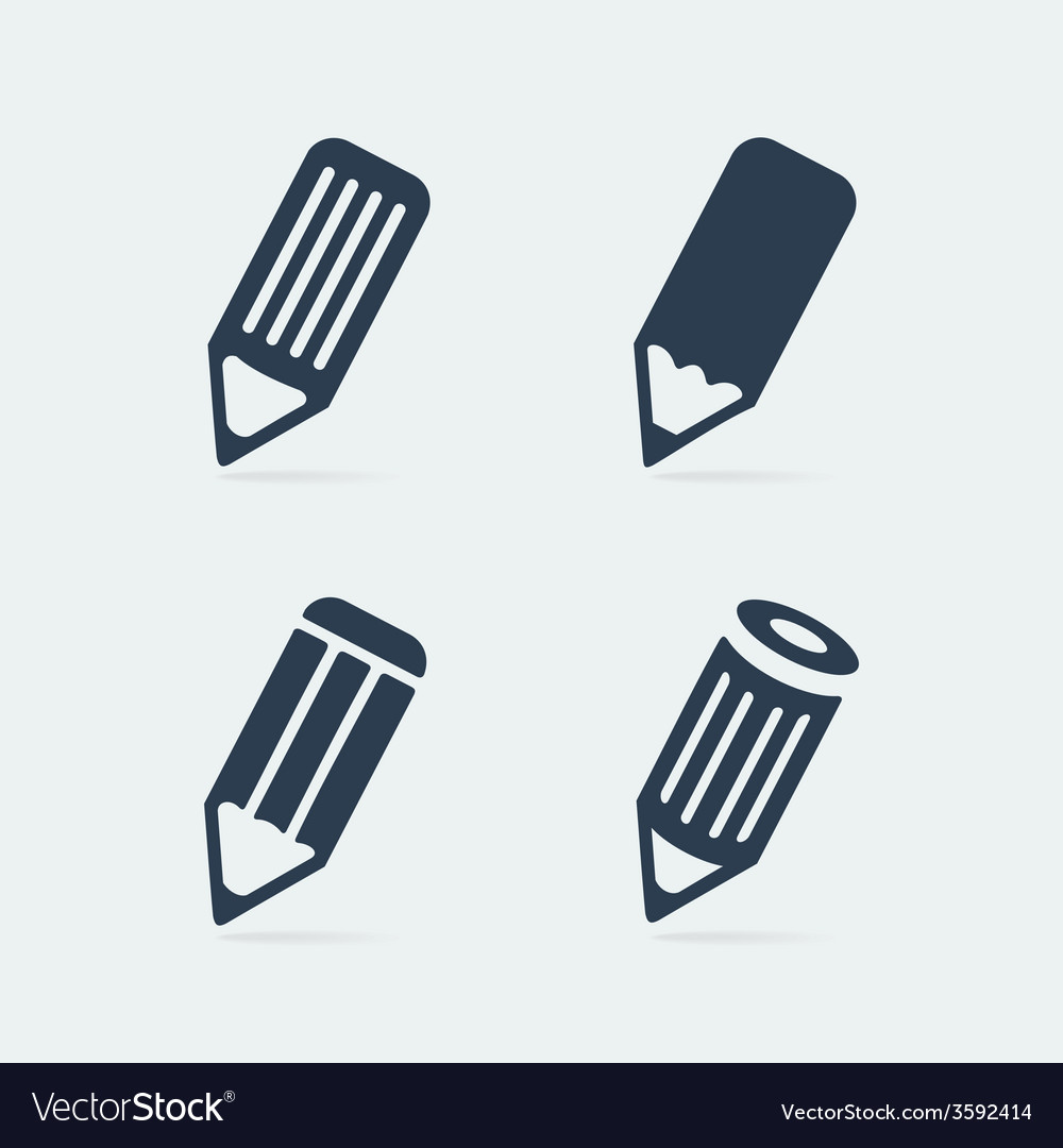 Symbol set pen vector | Price: 1 Credit (USD $1)