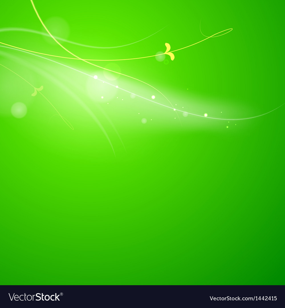Abstract green lights vector | Price: 1 Credit (USD $1)