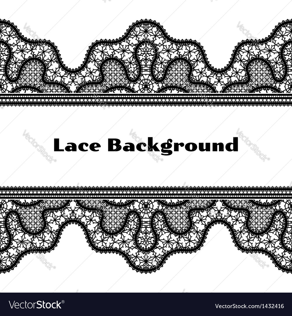 Black lace background vector   Price: 1 Credit (USD $1)