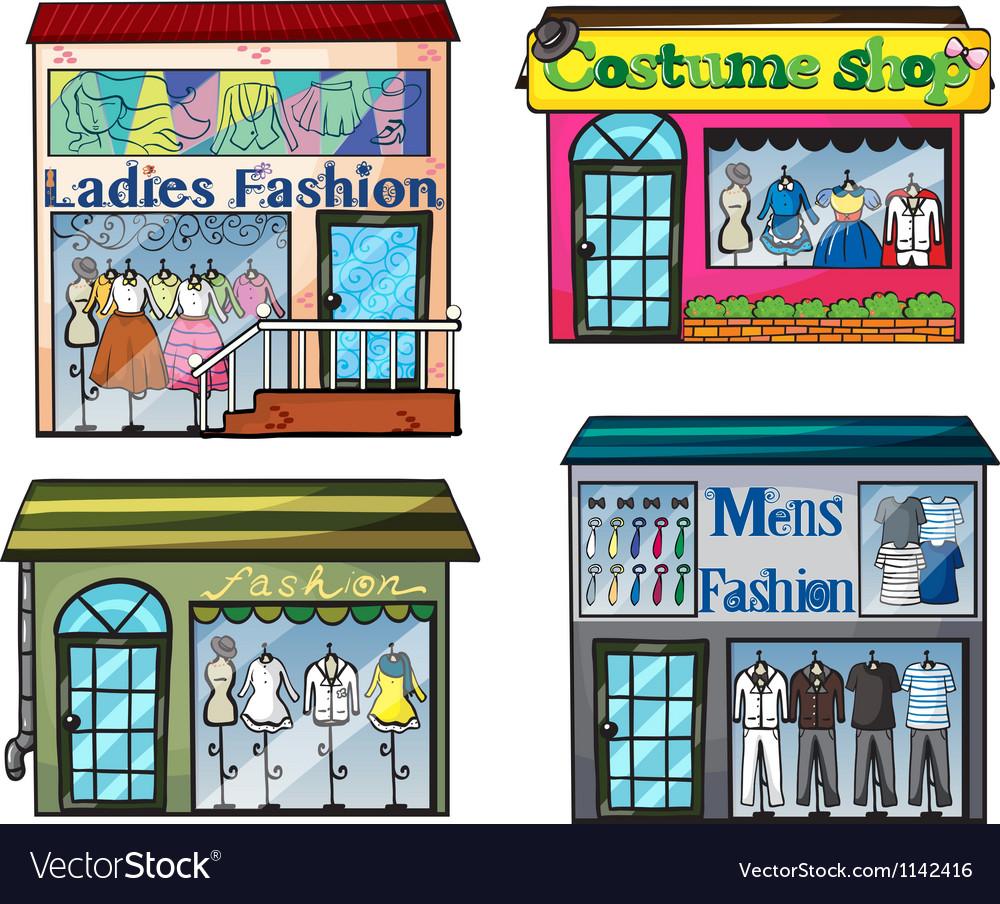 Fashion shop vector | Price: 1 Credit (USD $1)