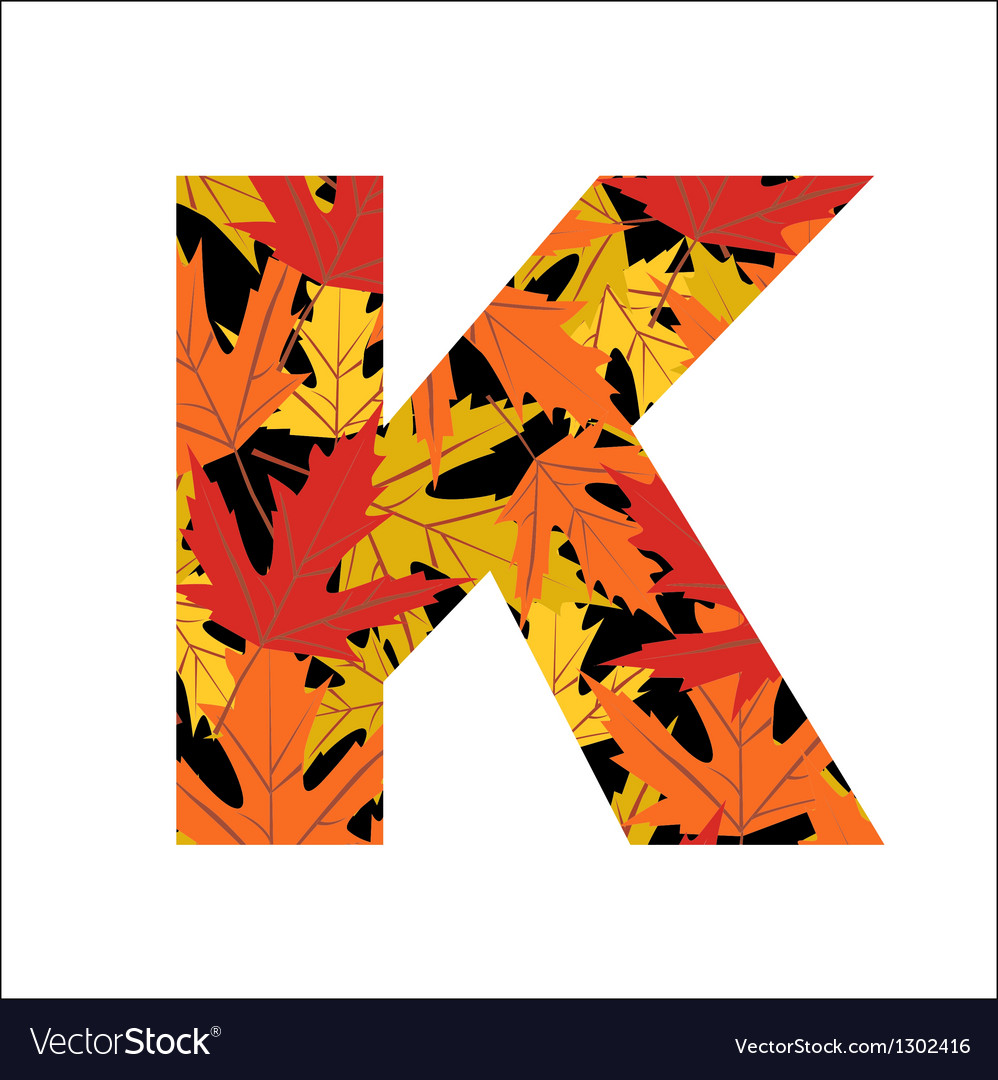 K letter vector | Price: 1 Credit (USD $1)