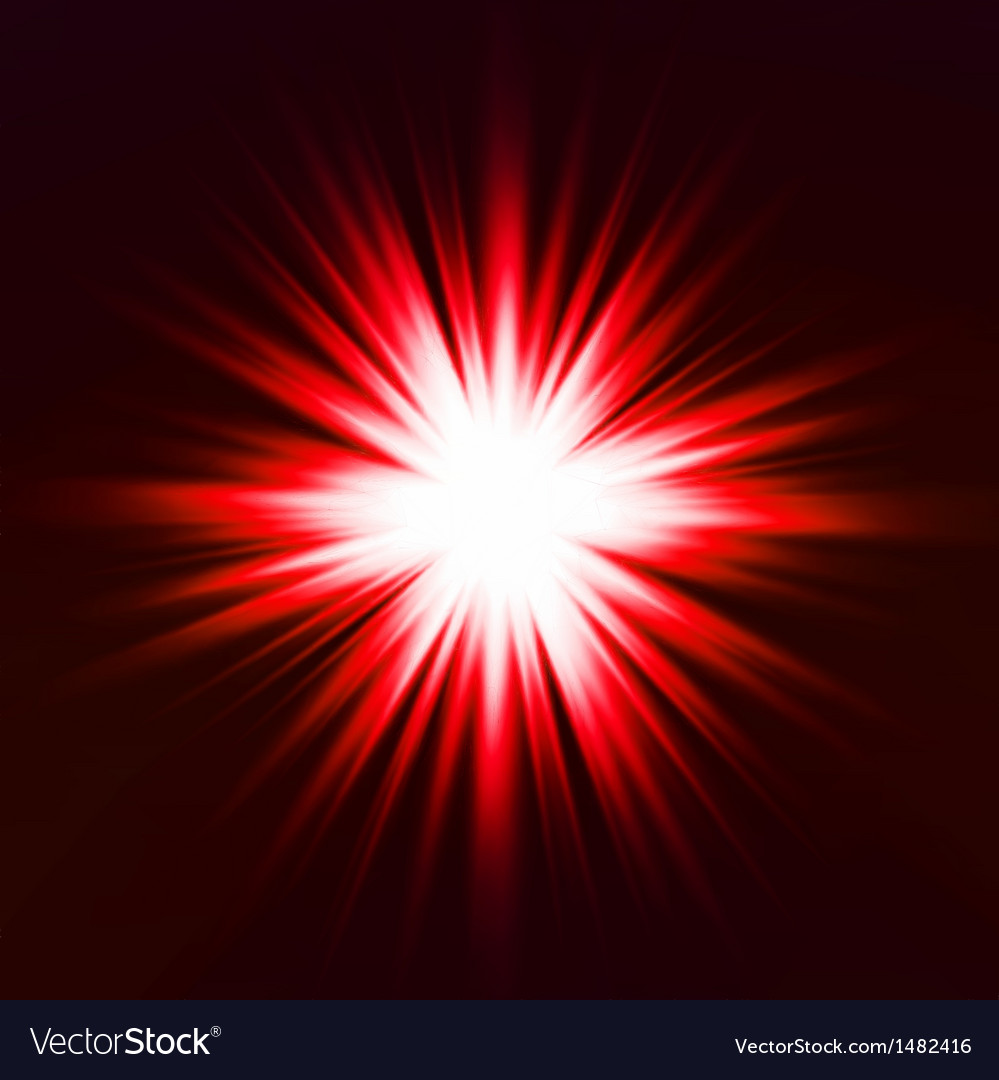Light flare red effect vector | Price: 1 Credit (USD $1)
