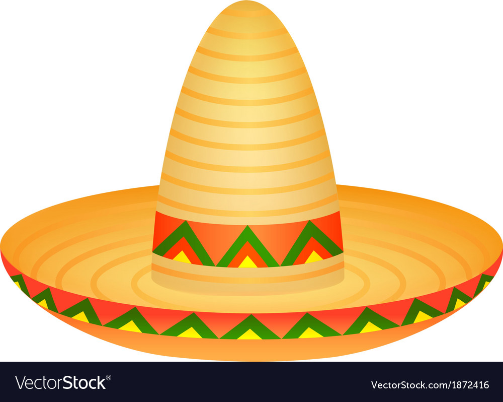 Sombrero vector | Price: 1 Credit (USD $1)