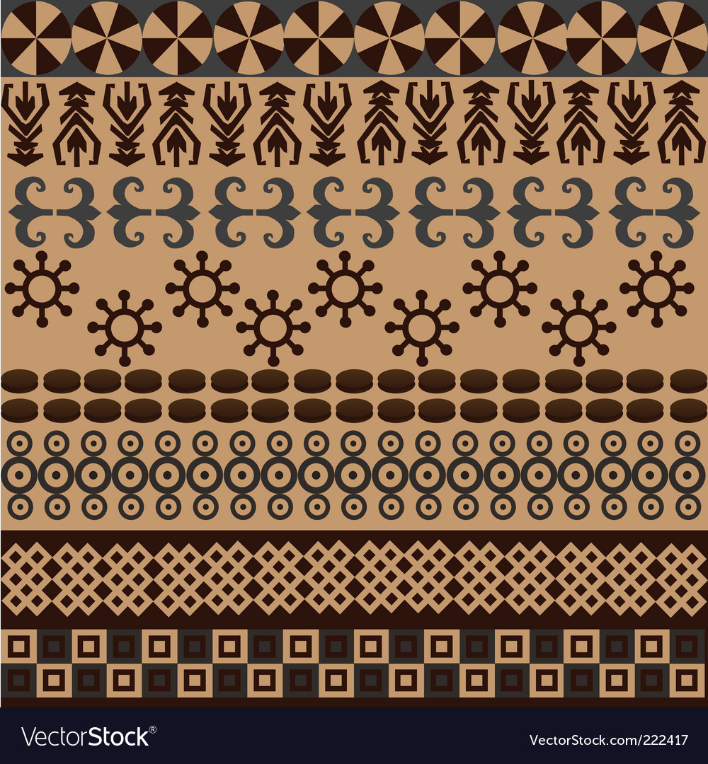 Ethnic pattern vector | Price: 1 Credit (USD $1)