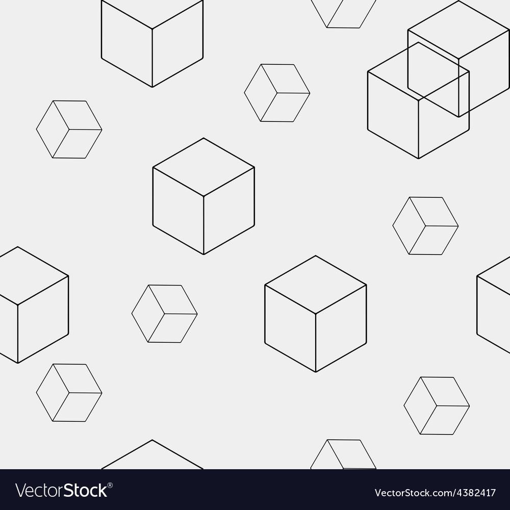 Geometric seamless simple monochrome minimalistic vector | Price: 1 Credit (USD $1)