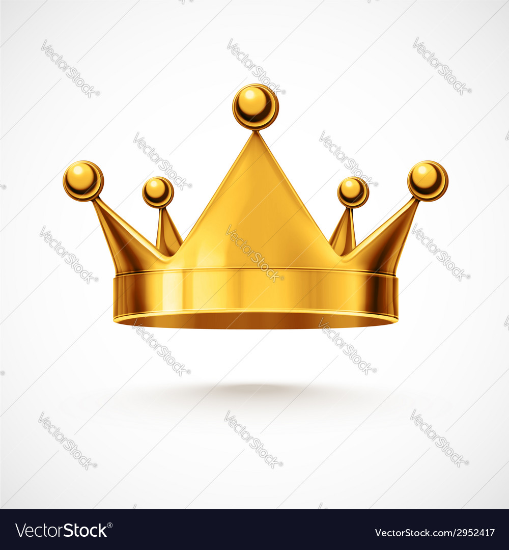 Isolated crown vector | Price: 1 Credit (USD $1)