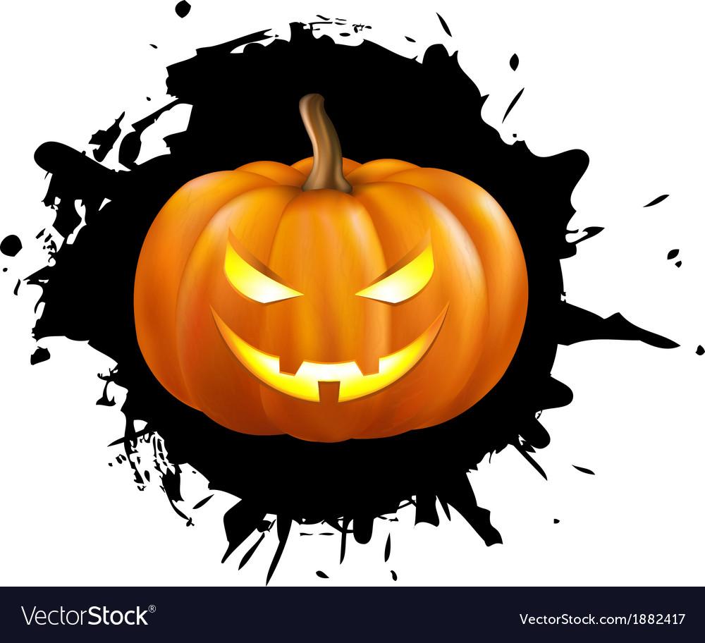 Pumpkin for halloween vector | Price: 1 Credit (USD $1)