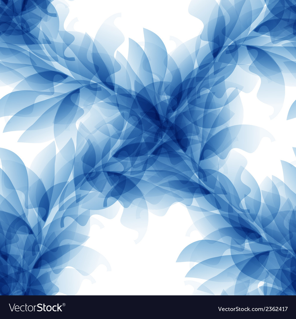 Seamless tender background with blue abstract vector | Price: 1 Credit (USD $1)