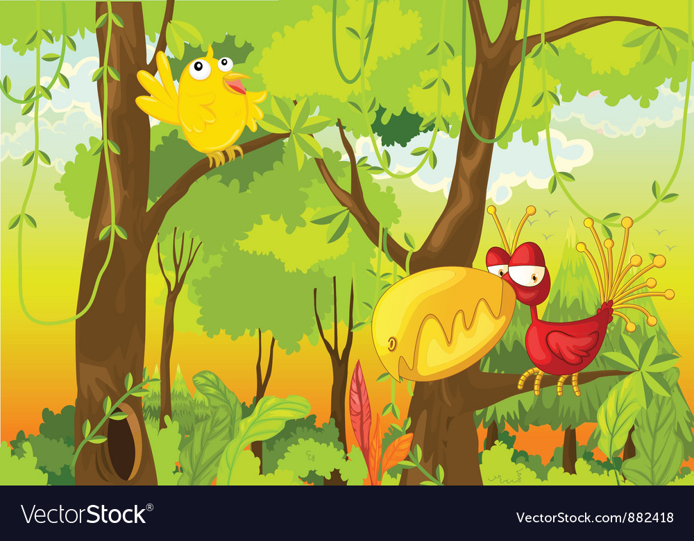 Birds vector | Price: 5 Credit (USD $5)