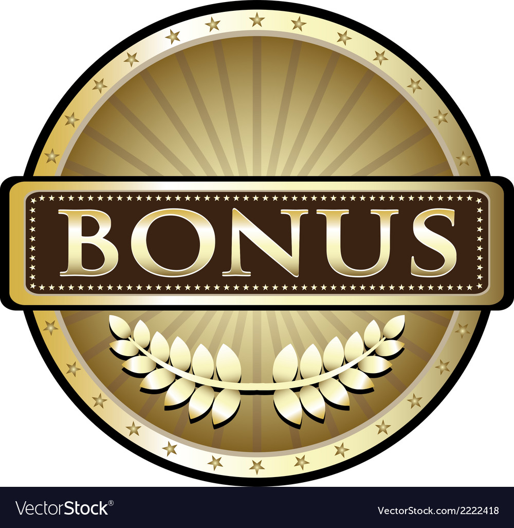 Bonus gold award vector | Price: 1 Credit (USD $1)