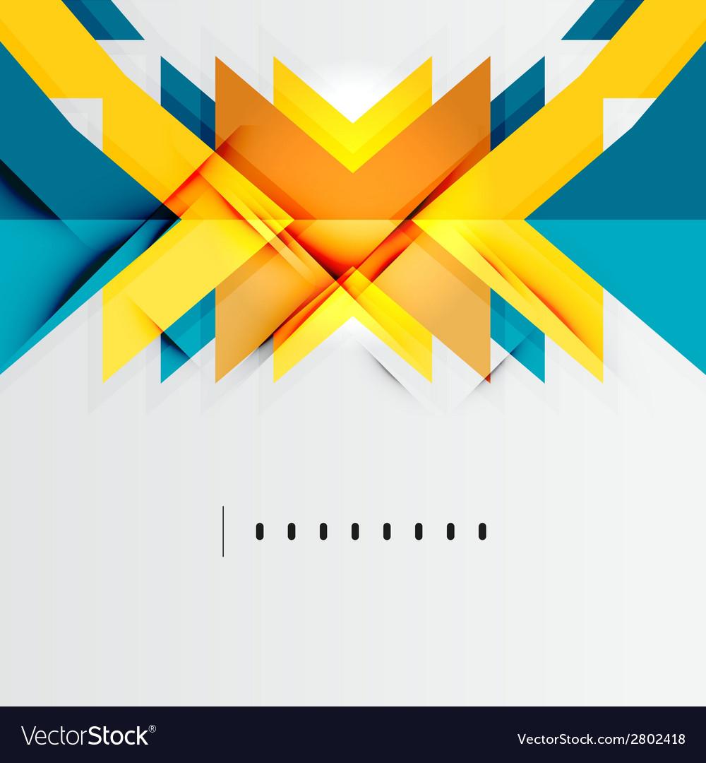 Futuristic geometric shapes minimal design vector   Price: 1 Credit (USD $1)