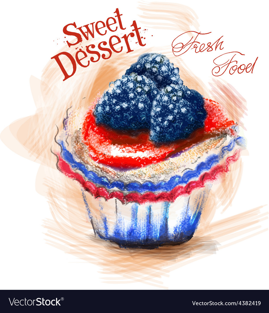 Dessert logo design template cake or fresh vector   Price: 3 Credit (USD $3)