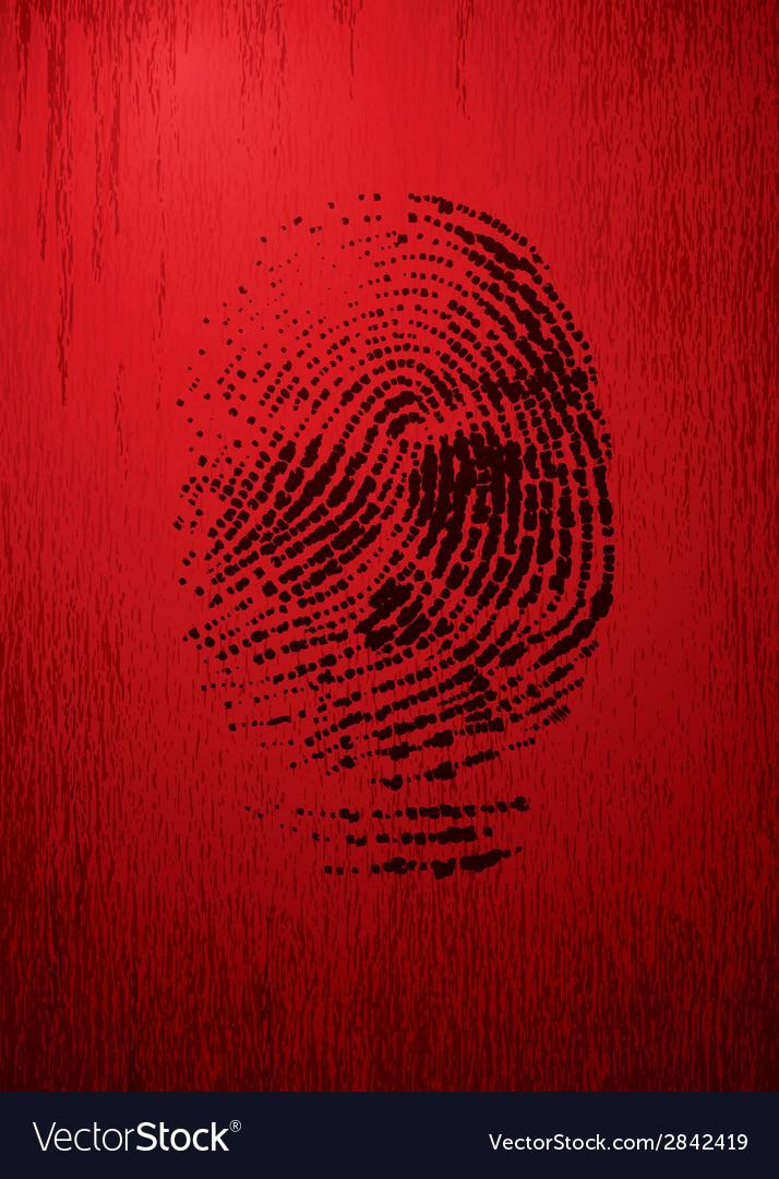 Thumbprint vector | Price: 1 Credit (USD $1)