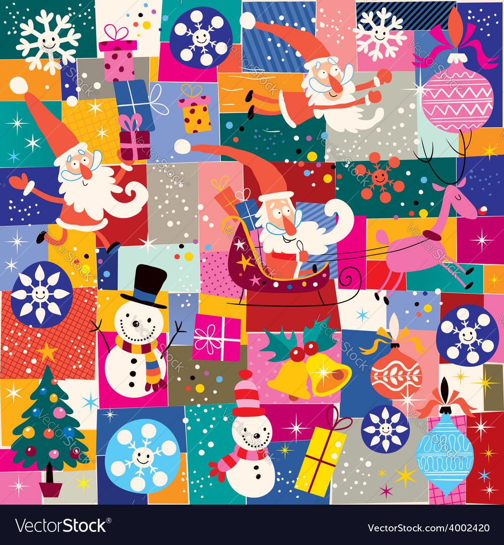 Christmas pattern 9 vector | Price: 1 Credit (USD $1)