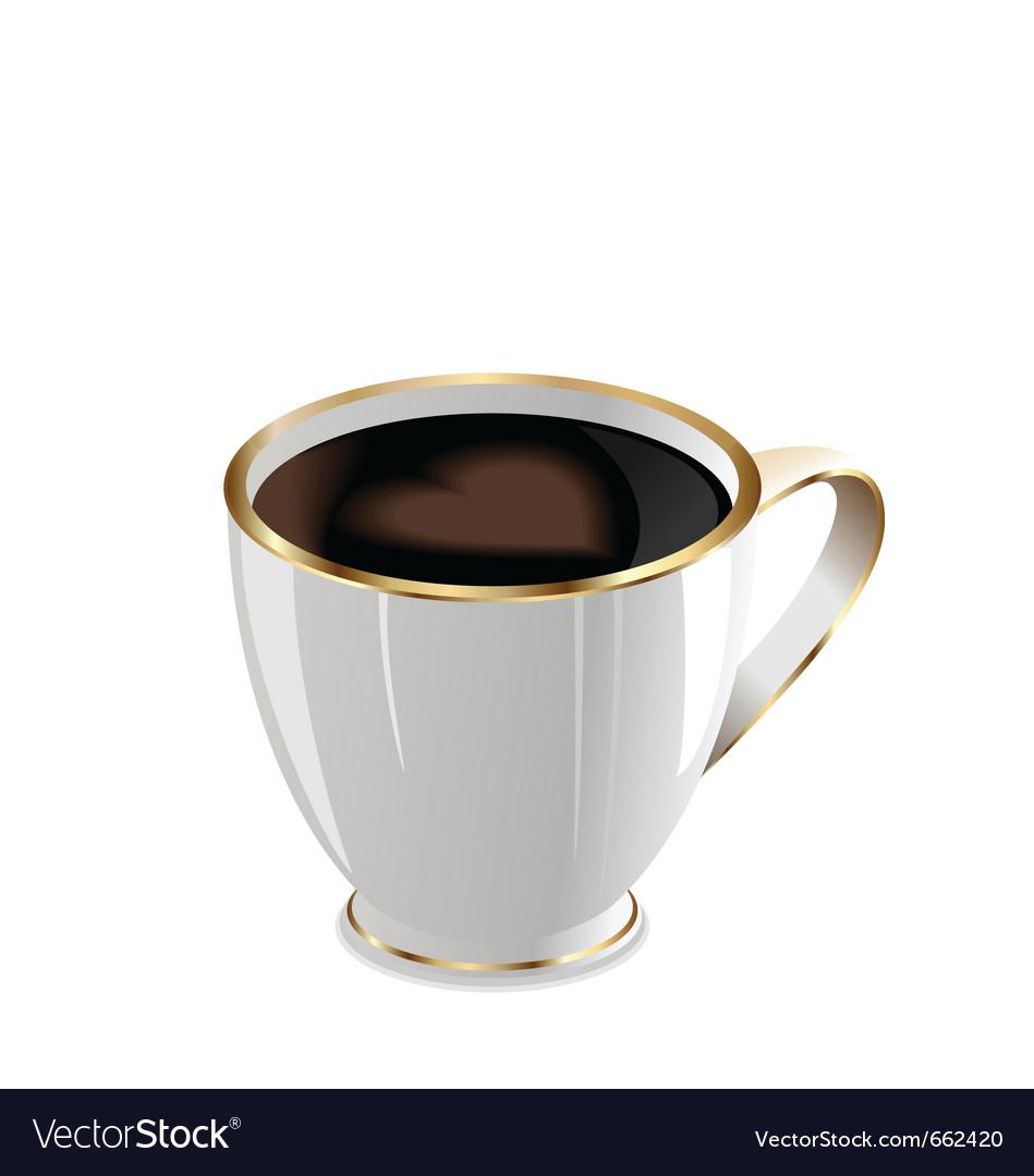 Coffee mug vector | Price: 1 Credit (USD $1)