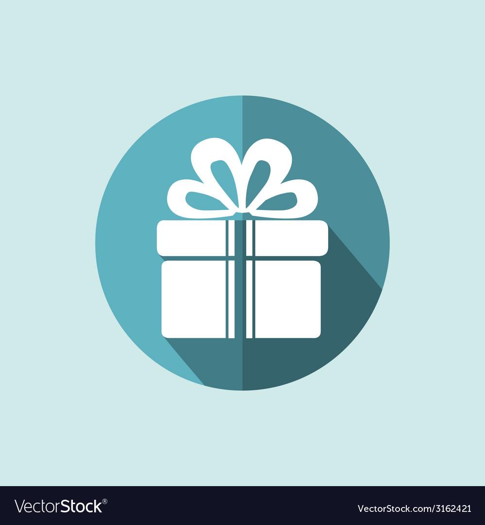 Gift box icon vector | Price: 1 Credit (USD $1)