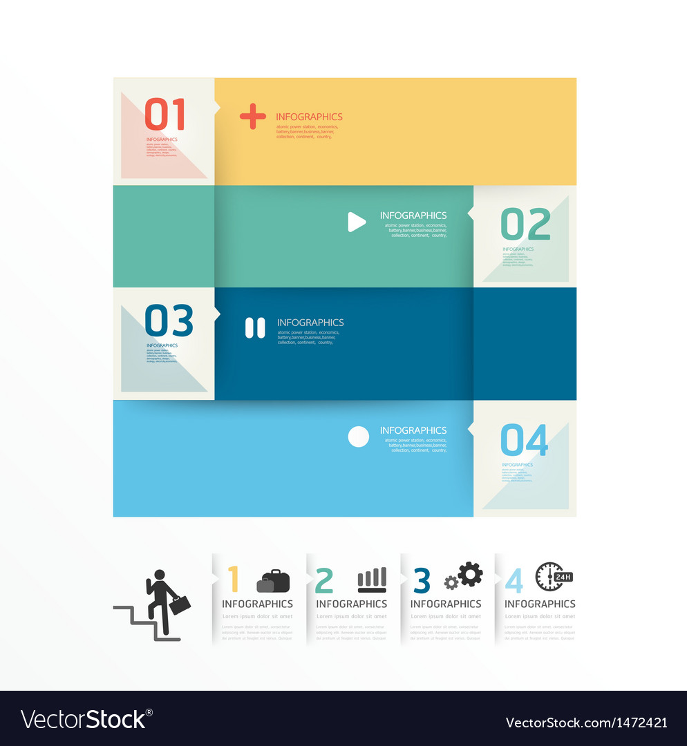 Modern design soft colour template vector | Price: 1 Credit (USD $1)