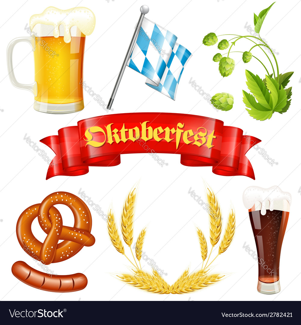 Oktoberfest icon vector | Price: 1 Credit (USD $1)