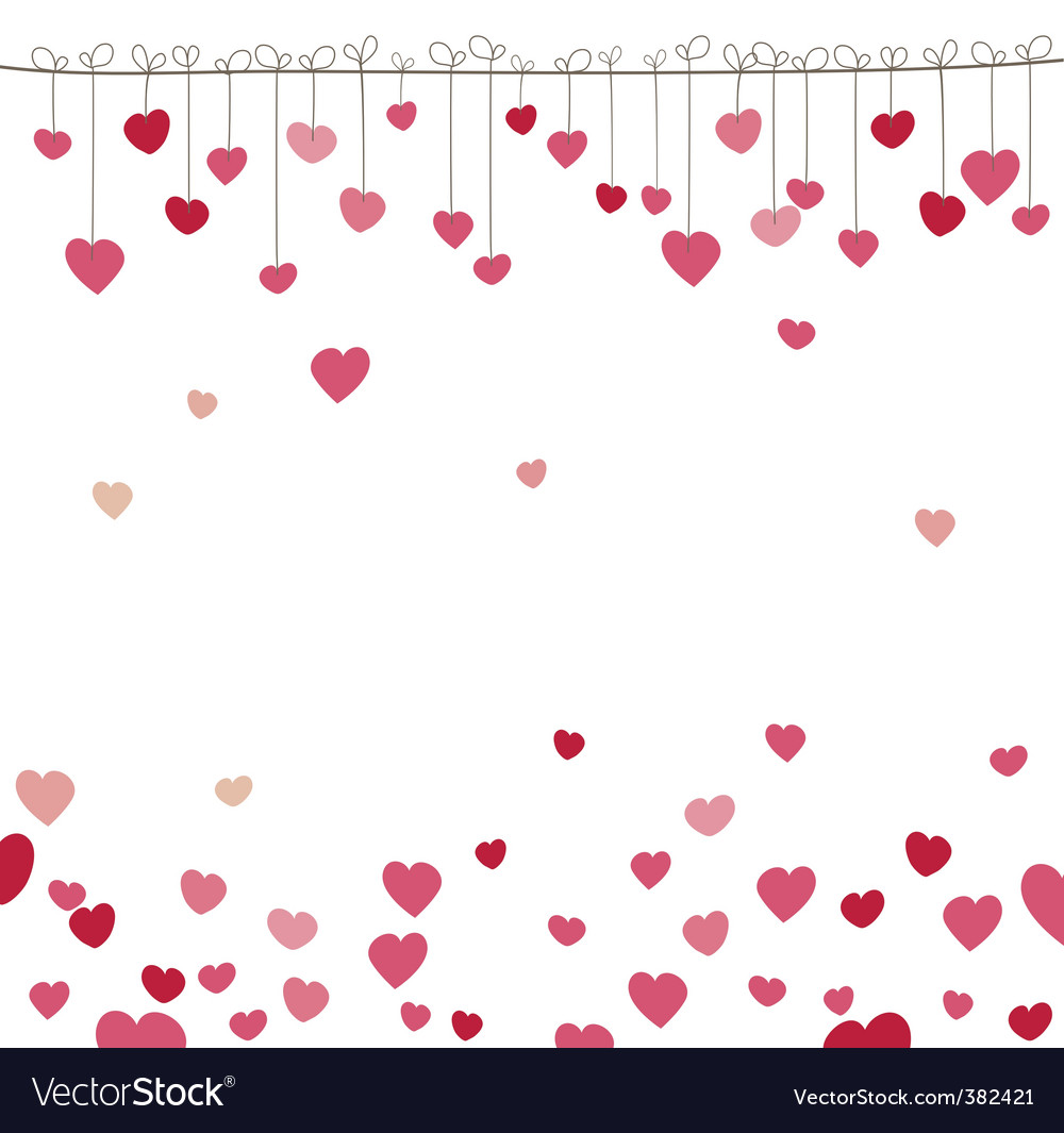 Ound with heart vector illustration vector | Price: 1 Credit (USD $1)