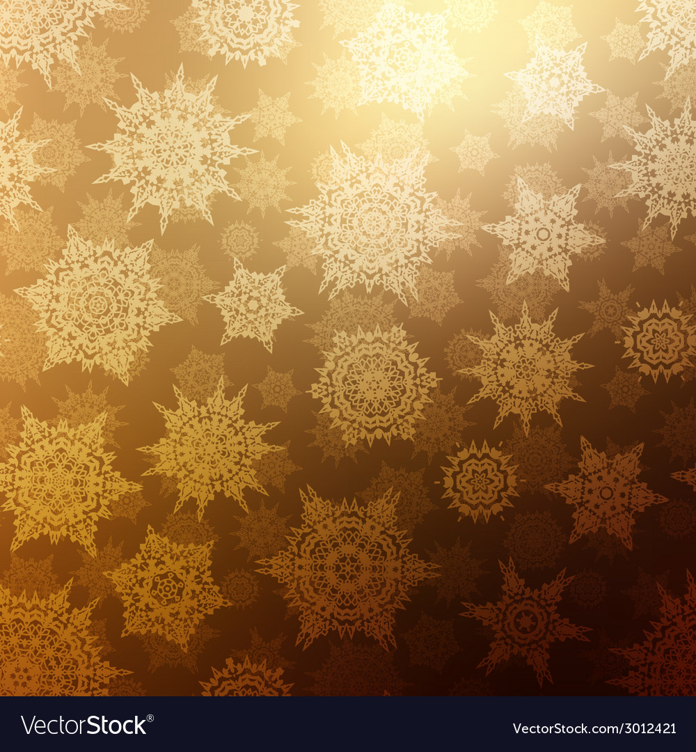 Seamless bronze christmas texture pattern eps 10 vector | Price: 1 Credit (USD $1)