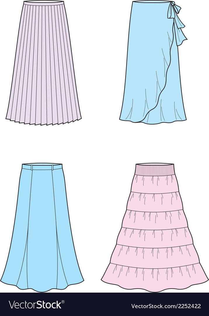 Long skirt vector | Price: 1 Credit (USD $1)