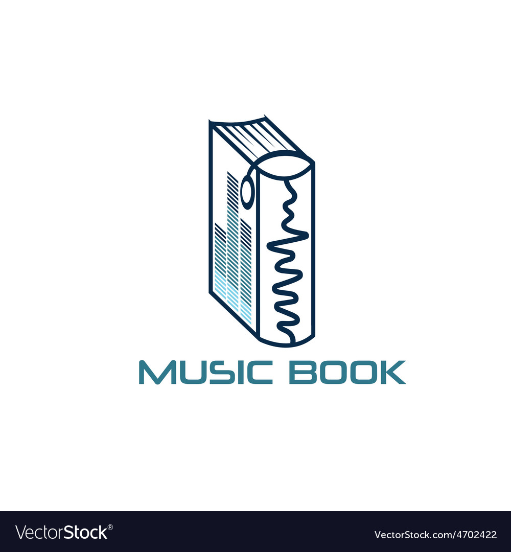 Music book design template vector | Price: 1 Credit (USD $1)