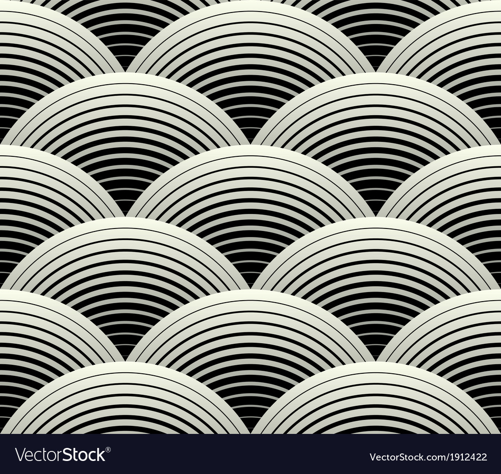 Ornate geometric petals grid seamless pattern vector | Price: 1 Credit (USD $1)
