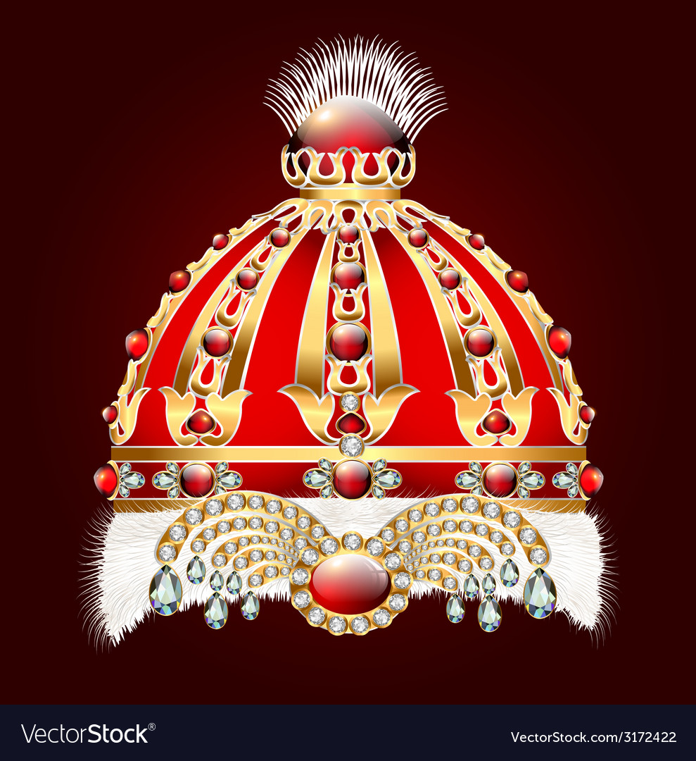 Royal golden crown with an ornament vector | Price: 1 Credit (USD $1)