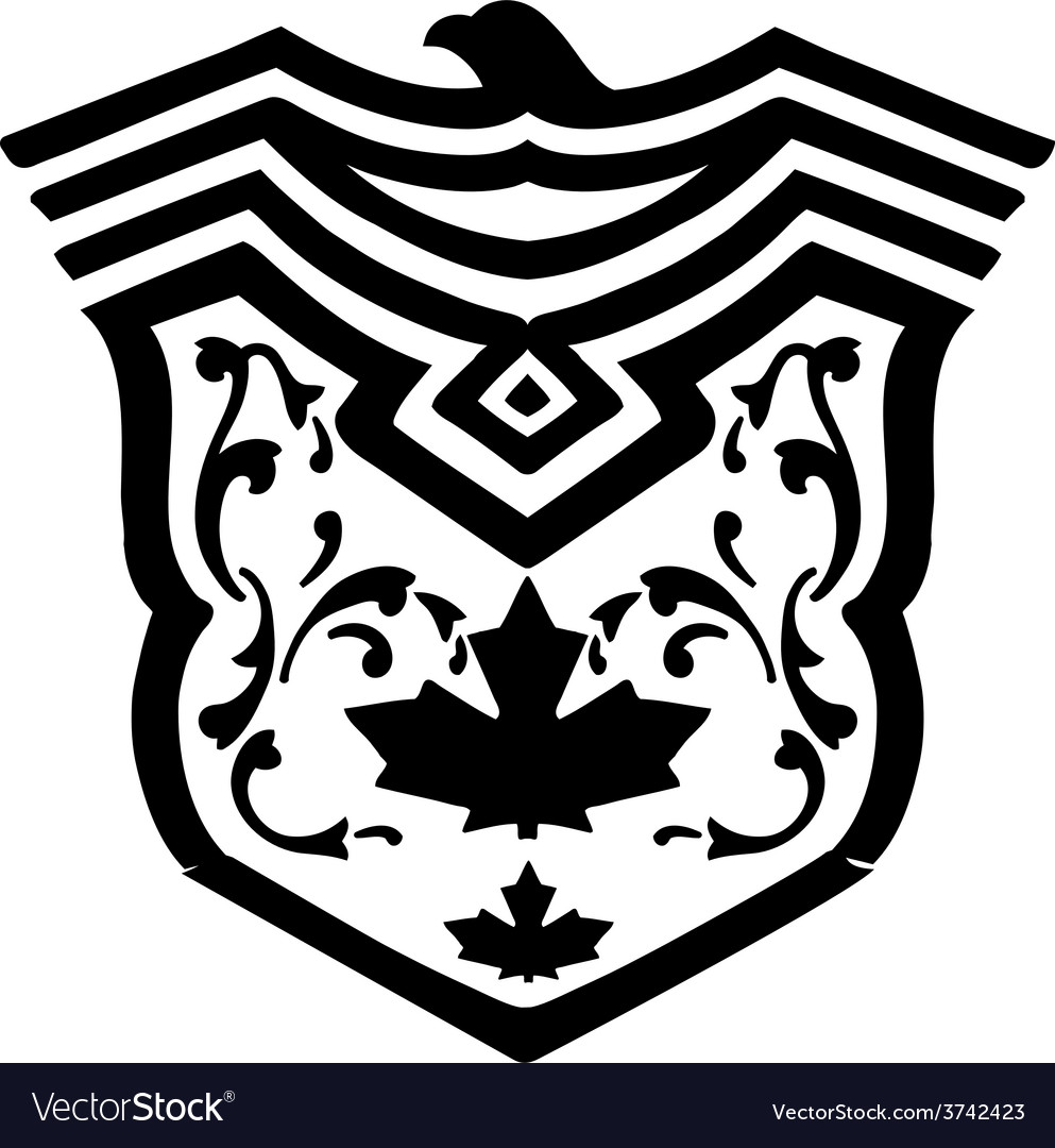 Eagle crest eagle crest fashion print design vector | Price: 1 Credit (USD $1)