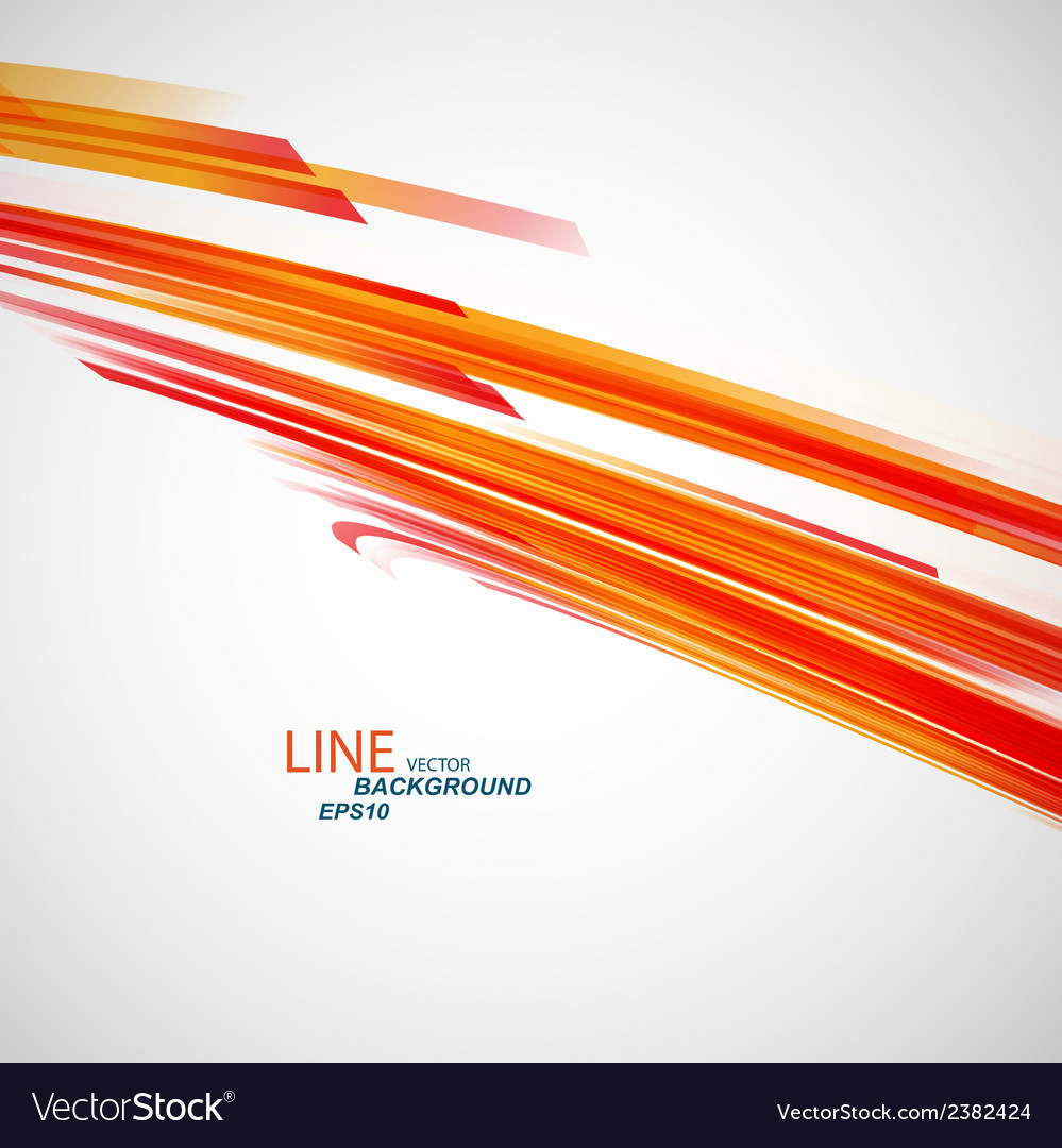 Color abstract line eps vector | Price: 1 Credit (USD $1)