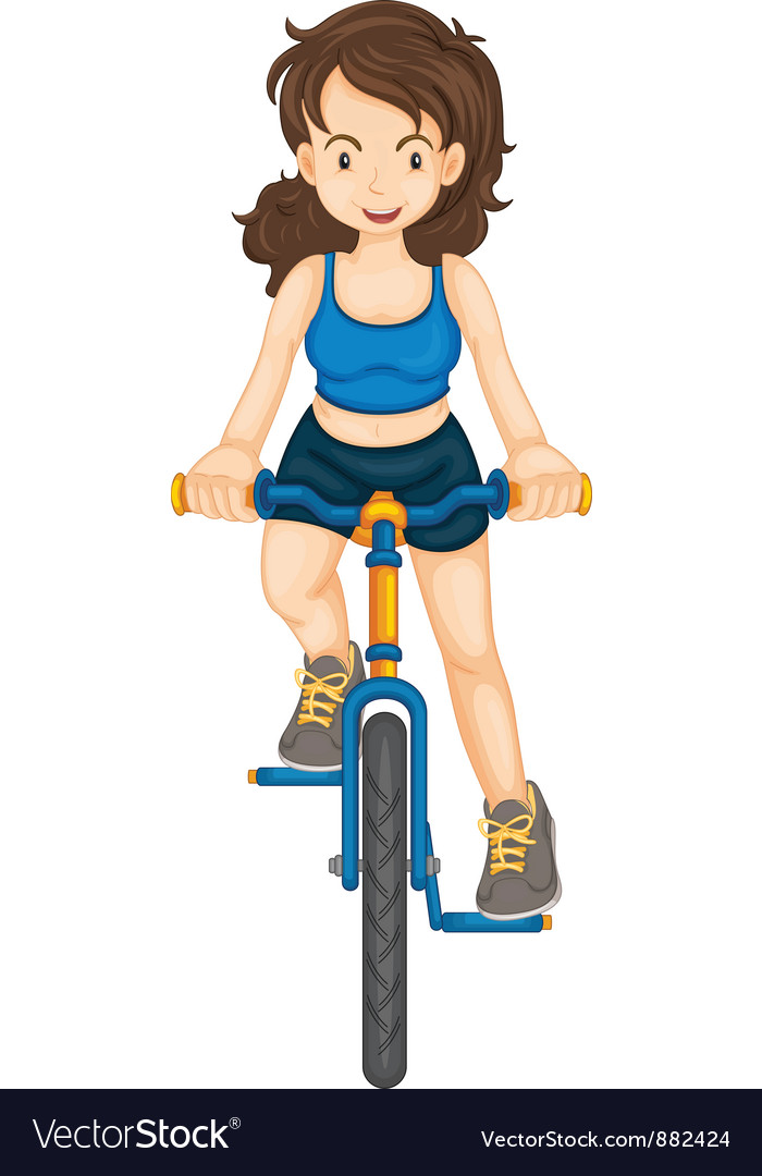Fitness girl vector | Price: 3 Credit (USD $3)