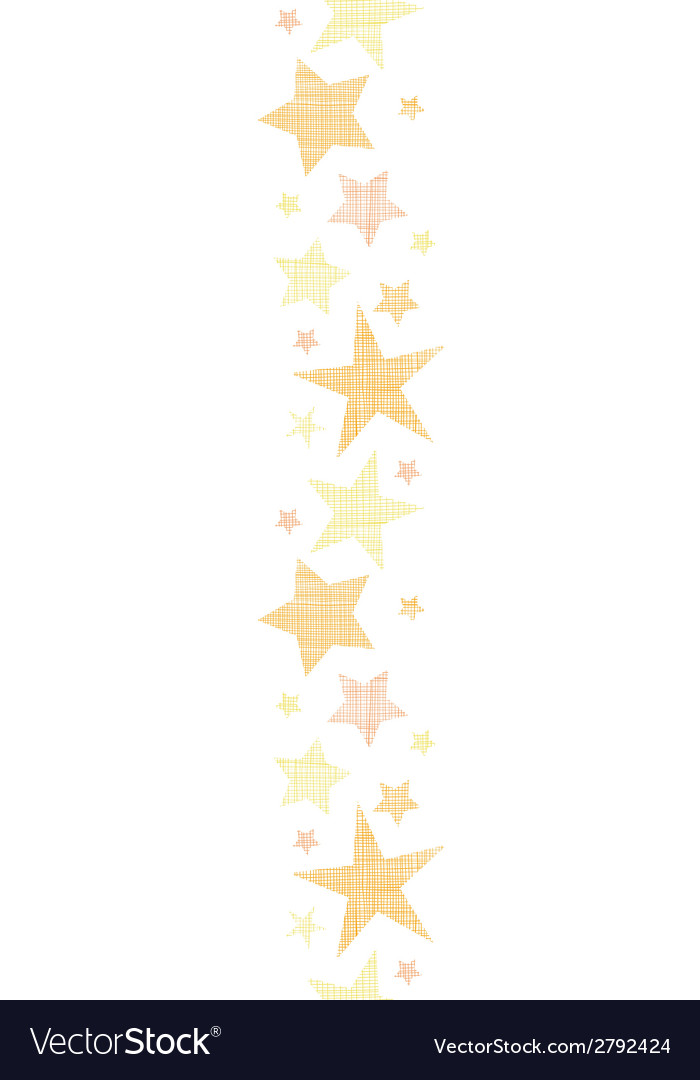 Golden stars textile textured vertical seamless vector | Price: 1 Credit (USD $1)